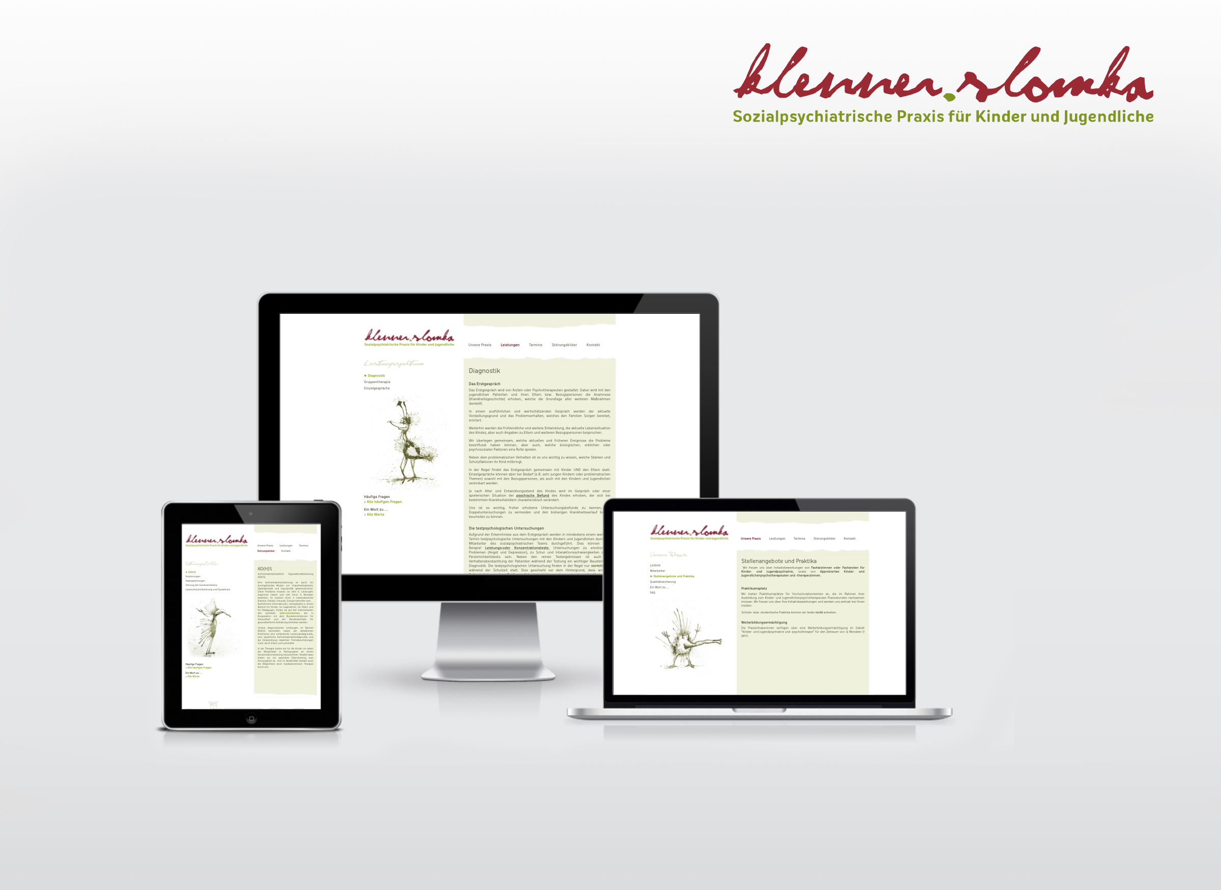 Website von Klenner Slomaka