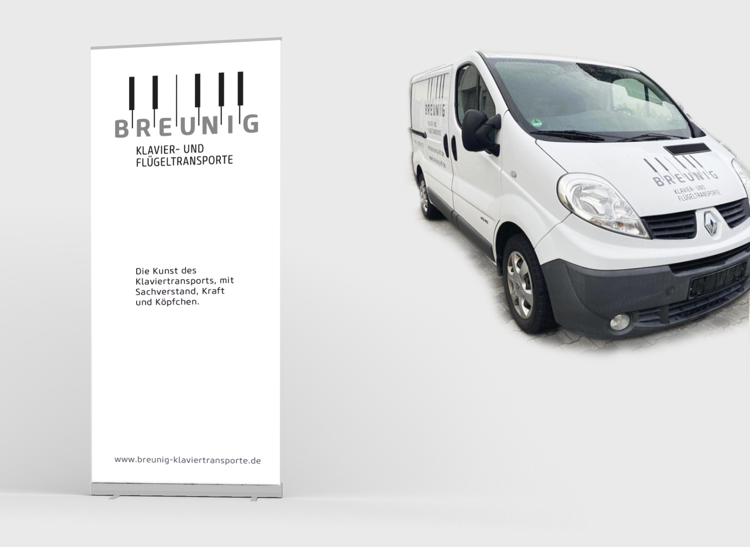 Roll-Up und Transportwagen
