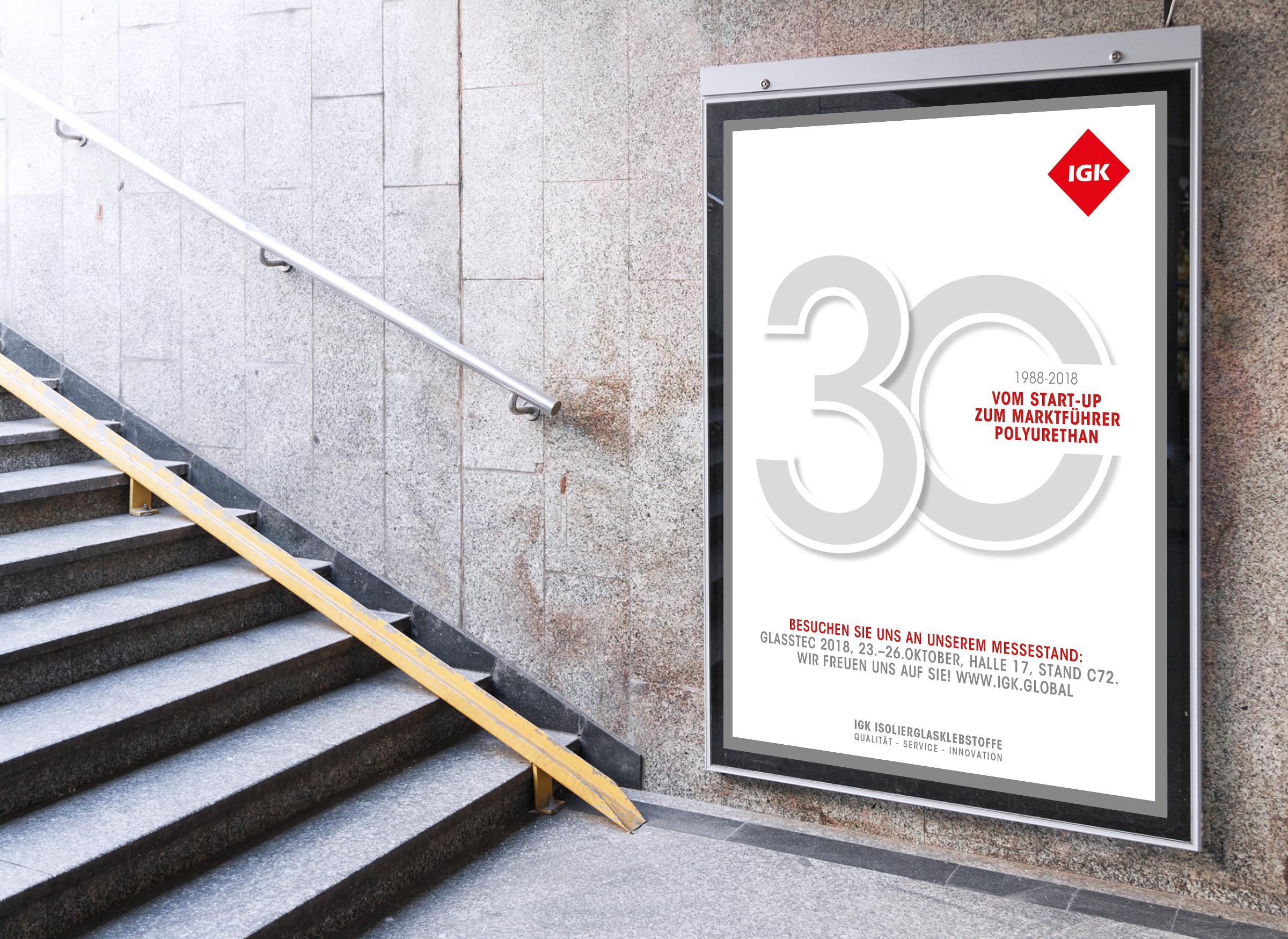 Plakat Außenwerbung