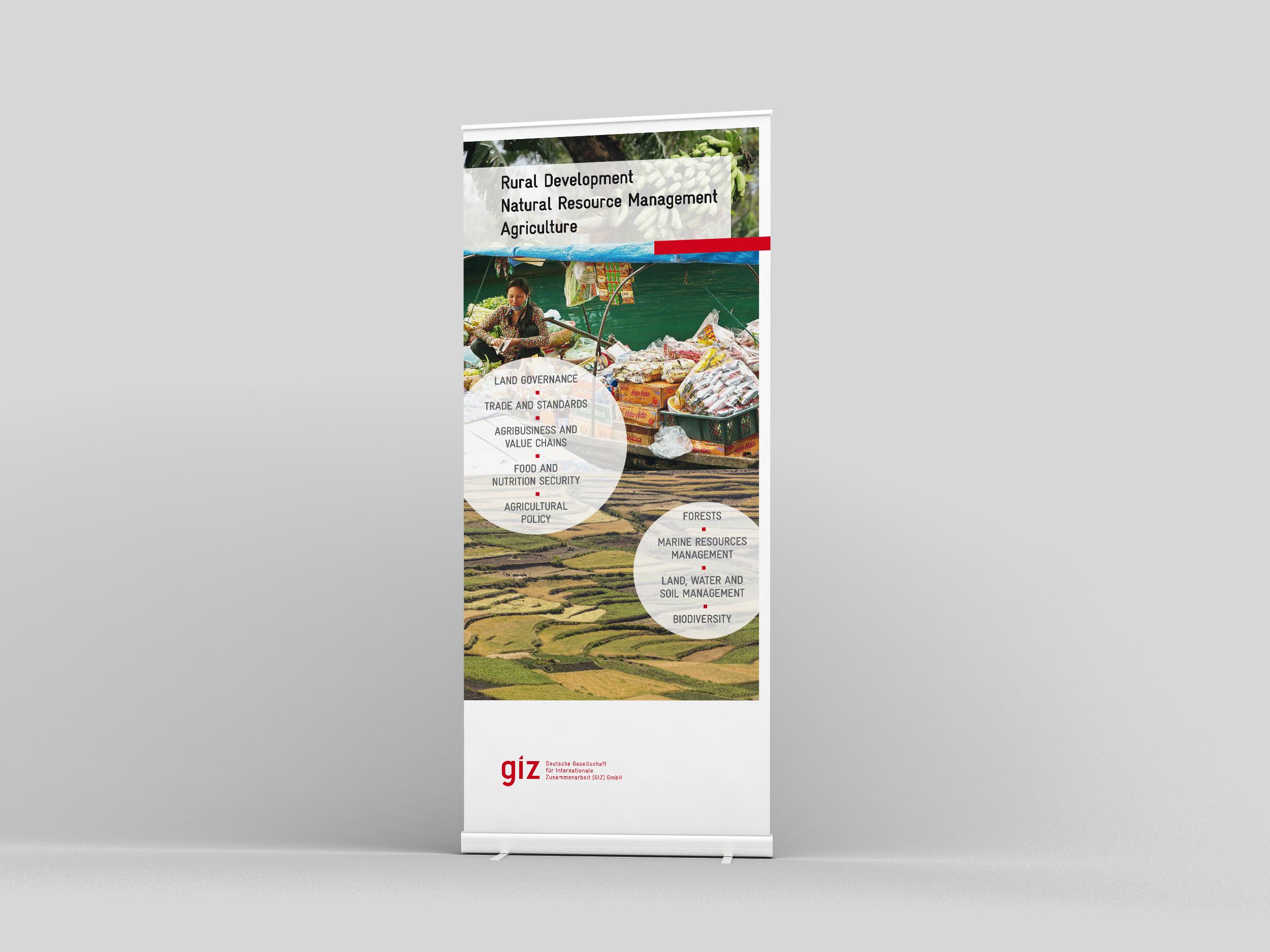 GIZ Roll-Up Banner